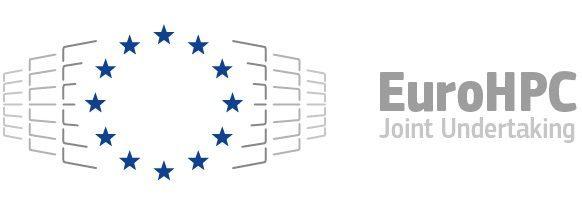 Logo EURO HPC