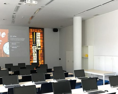 Blue Lecture Hall